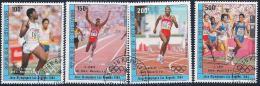 Ivory Coast, Scott # C86-9 Used Olympics, 1984 - Côte D'Ivoire (1960-...)