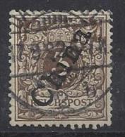 Germany (China) 1898  (o) Mi. 1 II - Bureau: Chine