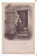 NORMANDIE Types Ancien Costume Paysanne Normande - Costumes