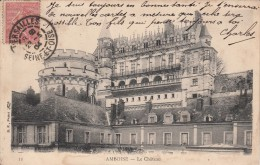 Cp , 37 , AMBOISE , Le Château - Amboise