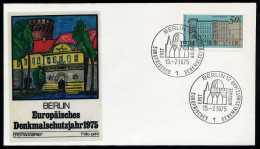 31833) Berlin - Michel 508 - FDC - Denkmalschutzjahr - [5] Berlín
