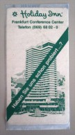 HOTEL PENSION HAUS HOLIDAY FRANKFURT MAIN GERMANY DEUTSCHLAND TAG DECAL STICKER LUGGAGE LABEL ETIQUETTE AUFKLEBER BERLIN