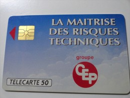 RARE : CEP PARIS MAITRISE TECHNIQUE MINT CARD - France