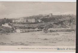 GrII014/ GRIECHENLAND -  Armeé 'd'Orient A Salonique Avec Cachet Telg. Milit. 29. 10. 18 - Grecia
