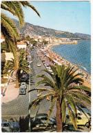 Menton: 2x RENAULT 4CV & 2x CITROËN 2CV - Promenade & Plage (Alpes-Maritimes, France) - Toerisme