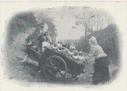 CPA BELGIQUE Laitières Flamandes Un Passage Difficile Voiture à Chien 1904 - Zonder Classificatie