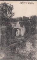Cp , 60 , CRÉPY-en-VALOIS , L'Église De Bouillant - Crepy En Valois