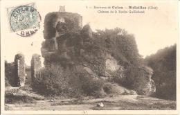 ENVIRONS DE CULAN -SIDIALLES ,CHATEAU DE LA ROCHE GUILLEBAUD   REF 40927 - France