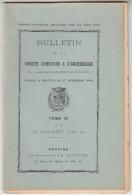 Bulletin De La Société D´Histoire Et D´Archéologie De L´arrondissement De Provins Vol4 1899-1900 - FRANCO DE PORT - Ile-de-France