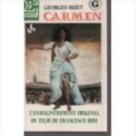 France Boite D'allumettes Pleine   -  Affiche De Cinéma - CARMEN De BIZET - Boites D'allumettes