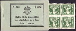 Sweden BK H020 A1c R** 1934  Stading Lion (20 Ore) C155 - Boekjes