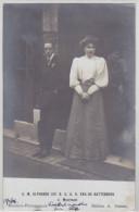 BIARRITZ-PITTORESQUE - S.M. Alphonse XIII Et S.A.R. Ena De Battenberg à Mouriscot - Carte-photo - Biarritz