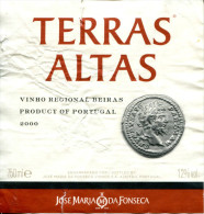 Vin Portugais  De 2000 Avec Monnaie De L'empereur Romain Sévère - Imperatori, Re, Regine E Principi