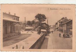 ERQUELINNES-Place De La Gare  1948  Animé - Erquelinnes