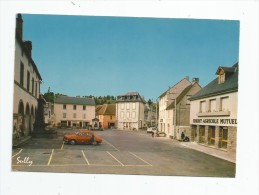 Cp , 63 , TAUVES , Place De La Mairie , Vierge , Phot : Sully , 1127 , Cimcolor - Other Municipalities