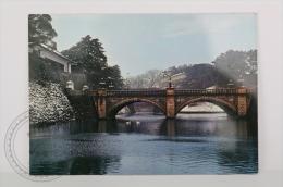 Japan Postcard - Tokio - Snow Covered Nijubashi Bridge - Unposted - Tokyo