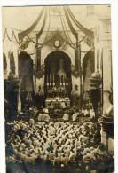 LA PALLICE - LA ROCHELLE. Carte Photo événement - Funérailles Du Second Maître E - FORTAIN  Messe De Sépulture - France