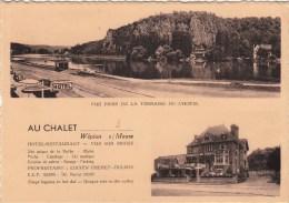 Wépion S/Meuse - Au Chalet - Vue Prise De La Terrasse De L'Hôtel - Namur