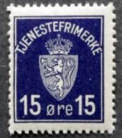 Norway 1926 Minr.3 MNH  (**) ( Lot  186  ) - Service