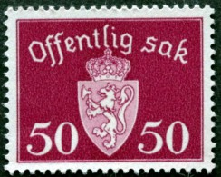 Norway 1947 Minr.58 MNH  (**) ( Lot  L 673  ) - Servizio