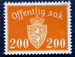Norway 1947 Minr.59 MNH  (**) ( Lot  L 679  ) - Servizio