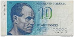 10 Markkaa 1986 - FINLANDE - TTB - - Finlande
