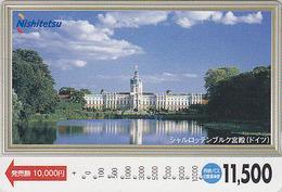 Carte Japon - Site ALLEMAGNE - BERLIN CHATEAU DE CHARLOTTENBURG - Castle GERMANY Rel Japan Card - Nishi 25 - Japan