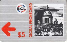 SAINT PETERSBURG(GPT) - Trykhkolenny Bridge, BCL Telecard, First Issue $5, CN : 1BCLA/B, Tirage 5000, Used - Russia