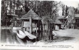 Exposition Coloniale De Marseille. Afrique Occidentale. Un Coin Pittoresque - Expositions