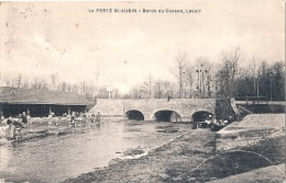 LA FERTE SAINT AUBIN Bords Du Cosson Lavoir Timbrée TTB - La Ferte Saint Aubin