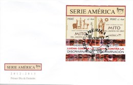 FDC,Peru,Mitos America 2012-13, Lucha Contra Discriminacion, Serpost Nr. 0041 - Peru