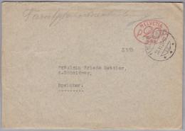 """Schweiz Firmenfreistempel 1950-06-20 Herisau """"P20P Brief Nach Speicher - Affranchissements Mécaniques"""