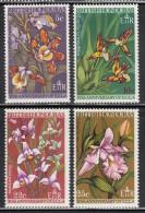 British Honduras MNH Scott #208-#211 Set Of 4 Orchids - 20th Anniversary Of E.C.L.A. - British Honduras (...-1970)