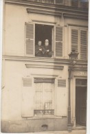 CPA PHOTO 75 PARIS XIV 20 Rue Liancourt La Maison Avant Sa Destruction Par La Grosse Bertha Le 23 Mars 1918 En 1911 Rare - Distrito: 14