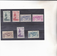 MAROC : Y&T : *  : 43 à 48-49 NSG PA - Marruecos (1891-1956)