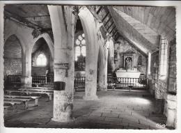PONT AVEN 29 - Intérieur De La Chapelle De Tremalo - CPSM Dentelée Noir Et Blanc GF 1964 - Finistère - Pont Aven