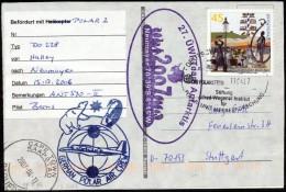 """ANTARCTIC, GERMANY, FS""""POLARSTERN"""" ,11.4.2007 !! 2 Cachets ,Flight POLAR 2 Halley-GvN, Look Scan !!  2611-50 - Antarctische Expedities"""
