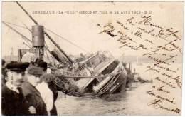 Bordeaux - Le Chili échoué En Rade ... ( MD édit.) ( état ) - Bordeaux