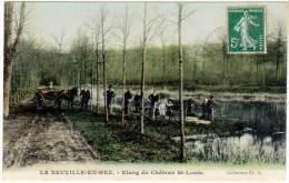 La Neuville En Hez - Etang Du Château St-Louis ( état ) - Autres Communes