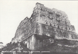CPA CASSINO- MONTECASSINO ABBEY, WW2 1944 DISTRUCTION AND RECONSTRUCTION PHAZE - Altre Città