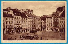Polonia Pologne Varsovie Warszawa Stare Miasto Cachet 1934 Przedruk Wrbroniony - Polonia