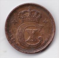 Denmark, 2 Øre, 1916 VBP, 2 Scans. - Danimarca