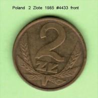 POLAND   2  ZLOTE  1985  (Y # 80.2) - Poland
