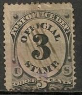 Timbres - Amérique - Etats-Unis - Official - 3 Cents - - Officials
