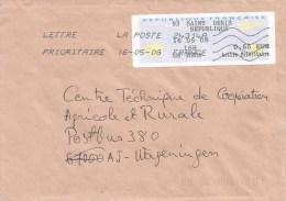 France 2008 St Denis EMA Avions En Papier Cover - 2000 «Avions En Papier»