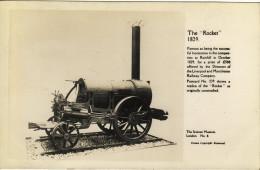 Railway RP Postcard Stephenson Rocket Science Museum Replica Loco Real Photo - Museum