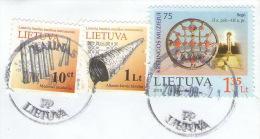 Lietuva Lithuania Lituania Lituanie Litauen 2010 Mi 1042 Museum von Kretinga USED COVER