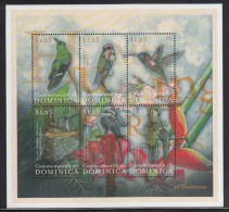 Dominica MNH Scott #2253 Sheet Of 6 $1.25 Hummingbirds - Dominique (1978-...)