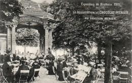 ROUBAIX - EXPOSITION EN 1911 : DEGUSTATION DU CHOCOLAT Au Pavillon MENIER - Publicité