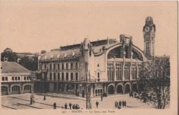 ROUEN LA GARE RUE VERTE - Rouen